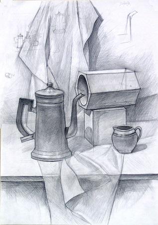 Подготовительные курсы по рисунку в ГУТД