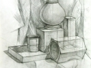 Натюрморт с вазой