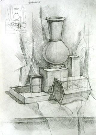 Подготовительные курсы по рисунку и живописи