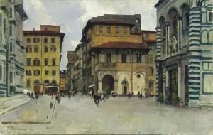 Пленэр во Флоренции