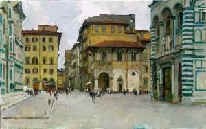 Художественная практика в Италии
