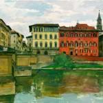 Пленэрный курс в Италии