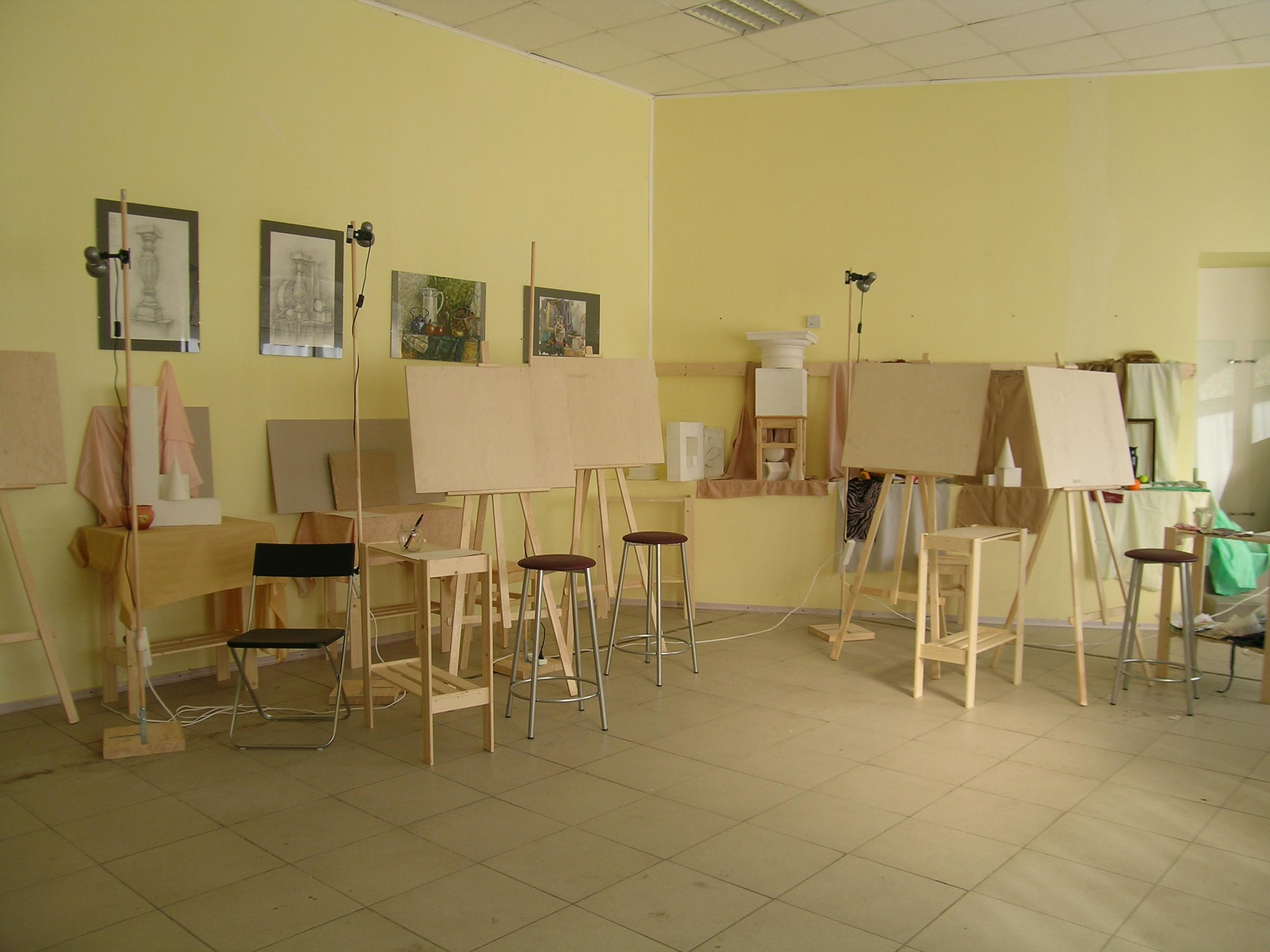 Студия рисунка и живописи в Петербурге. Курсы для взрослых