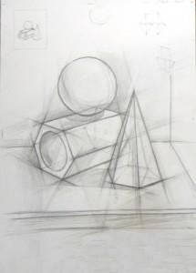 Курсы конструктивного рисования для взрослых в Санкт-Петербурге